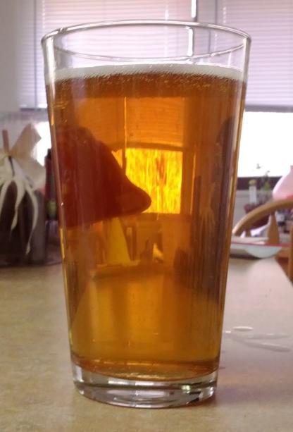 Das Ale Haus Despicabale raspberry blonde ale