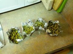 Pellet hops homebrewing