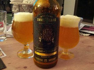 Ommegang Iron Throne Game of Thrones HBO