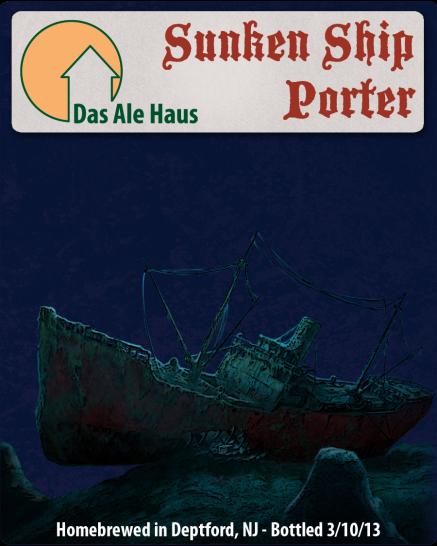 Das Ale Haus Sunken Ship Porter
