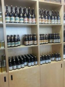 Golan Heights Beer Selection